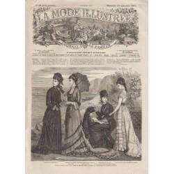 Complete magazine La Mode Illustrée 1877 N°38
