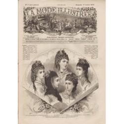 Complete magazine La Mode Illustrée 1878 N°07