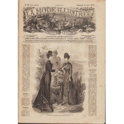 magazine La Mode Illustrée 1878-12