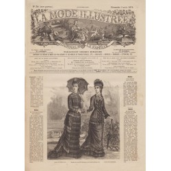 Revue complète de La Mode Illustrée 1878 N°31