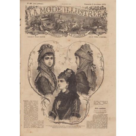 Complete magazine La Mode Illustrée 1878 N°49