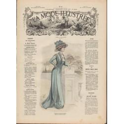 Complete magazine La Mode Illustrée 1909 N°13
