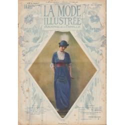magazine La Mode Illustrée 1913 N°37