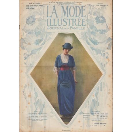 Revue La Mode Illustrée 1913 N°37