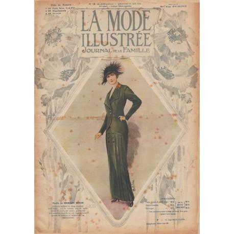 Revue complète de La Mode Illustrée 1913 N°19