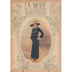 Complete magazine La Mode Illustrée 1913 N°11