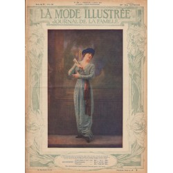 Revue complète de La Mode Illustrée 1913 N°10