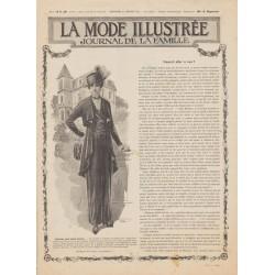 Complete magazine La Mode Illustrée 1915 N°4