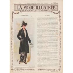 Complete magazine La Mode Illustrée 1915 N°5