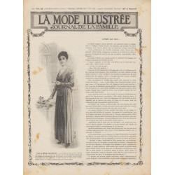 Revue complète de La Mode Illustrée 1915 N°6