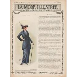 Complete magazine La Mode Illustrée 1915 N°9