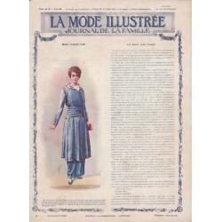 Complete magazine La Mode Illustrée 1915 N°11