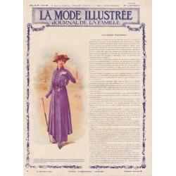 Revue complète de La Mode Illustrée 1915 N°14