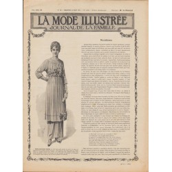 Complete magazine La Mode Illustrée 1915 N°13