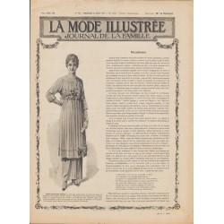 Complete magazine La Mode Illustrée 1915 N°15