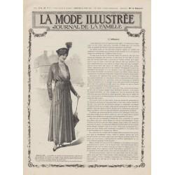 Complete magazine La Mode Illustrée 1915 N°17