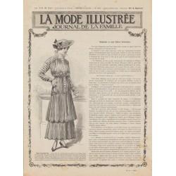 Revue complète de La Mode Illustrée 1915 N°22