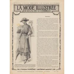 Complete magazine La Mode Illustrée 1915 N°30