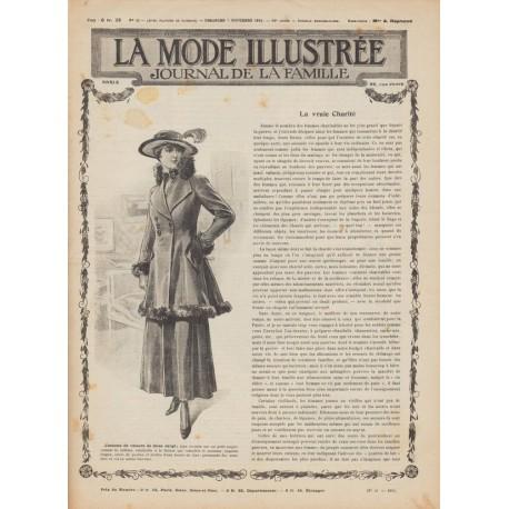 Complete magazine La Mode Illustrée 1915 N°45