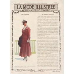 Complete magazine La Mode Illustrée 1915 N°47
