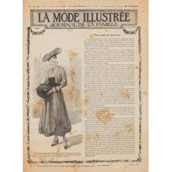 Complete magazine La Mode Illustrée 1915 N°52