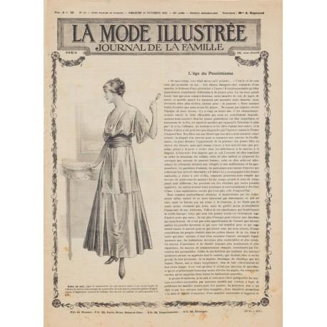 Complete magazine La Mode Illustrée 1915 N°48