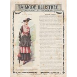 Complete magazine La Mode Illustrée 1915 N°34