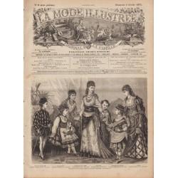 Revue complète de La Mode Illustrée 1876 N°06