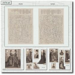 Sewing patterns La Mode Illustrée 1876 N°06