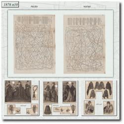 Sewing patterns La Mode Illustrée 1876 N°10