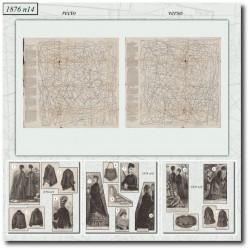 Sewing patterns La Mode Illustrée 1876 N°14