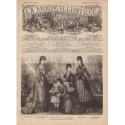 Revue complète de La Mode Illustrée 1876 N°17