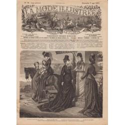 Revue complète de La Mode Illustrée 1876 N°19