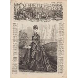 Revue complète de La Mode Illustrée 1876 N°23