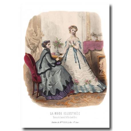 La Mode Illustrée 1867 3