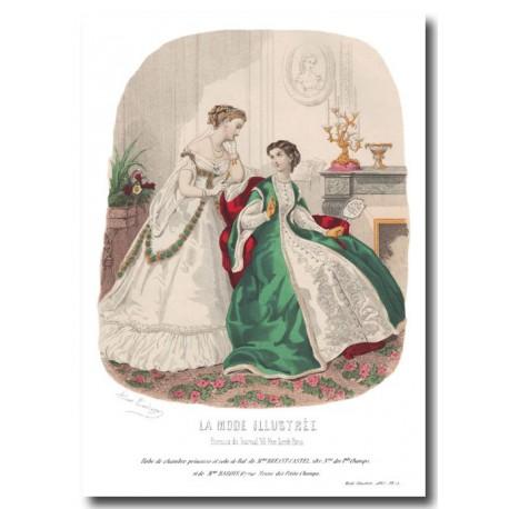 La Mode Illustrée 1867 5