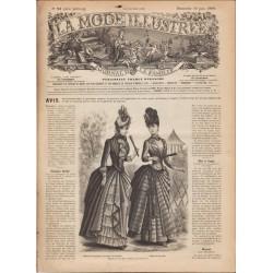 Revue complète de La Mode Illustrée 1888 N°24
