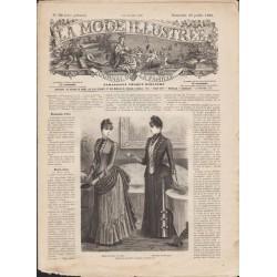Revue complète de La Mode Illustrée 1888 N°30