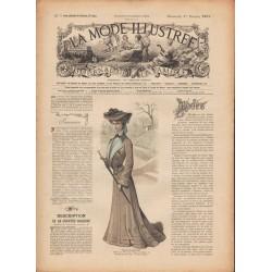 Complete magazine La Mode Illustrée 1903 N°5