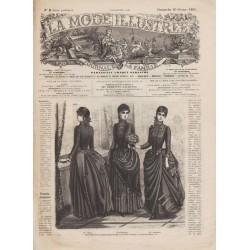 Complete magazine La Mode Illustrée 1887 N°08