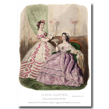La Mode Illustrée 1862 8