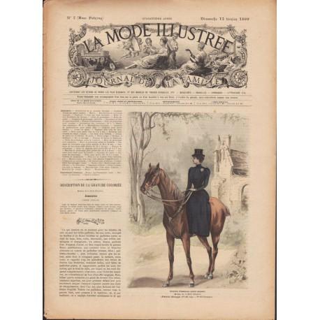 Revue complète de La Mode Illustrée 1899 N°07