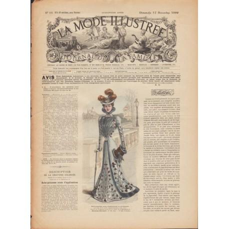 Revue complète de La Mode Illustrée 1899 N°51