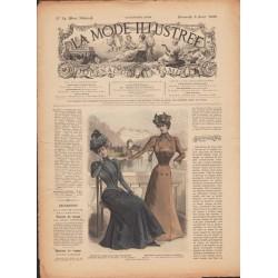 Complete magazine La Mode Illustrée 1899 N°14