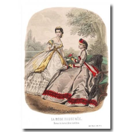 La Mode Illustrée 1864 34