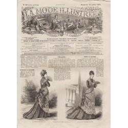 Complete magazine La Mode Illustrée 1876 N°30