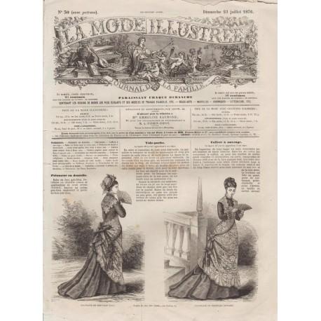 Revue complète de La Mode Illustrée 1876 N°30