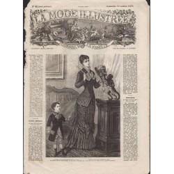 Revue complète de La Mode Illustrée 1879 N°42