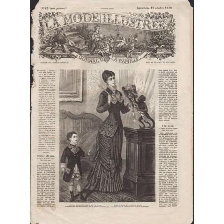 Complete magazine La Mode Illustrée 1879 N°42