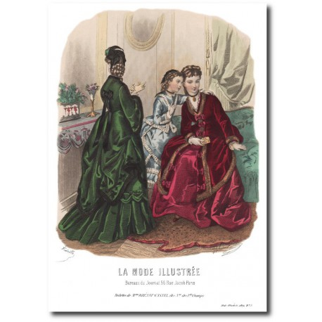 La Mode Illustrée 1872 26